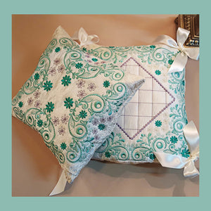 Forest Song Pillow Quilt Designs