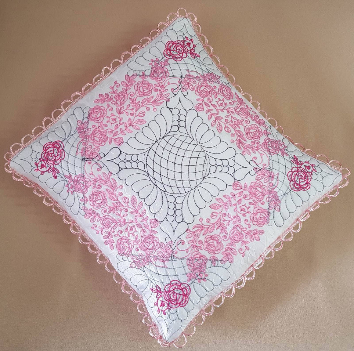 Rose Heritage Pillow Quilt Collection