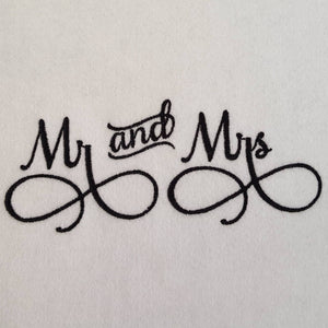Matching Monogram Mr and Mrs Eyeglass Cases