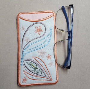 Delicate Fall Eyeglass Cases - a-stitch-a-half