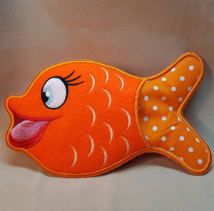 In the Hoop Something Fishy Oven Mitt