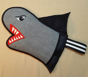 In the Hoop Bruce the Shark Oven Glove