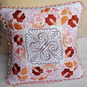 Autumn Song Pillow Quilt Combo - astitchahalf