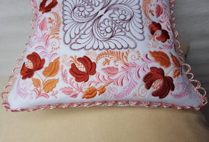 Autumn Song Pillow Quilt Combo - a-stitch-a-half