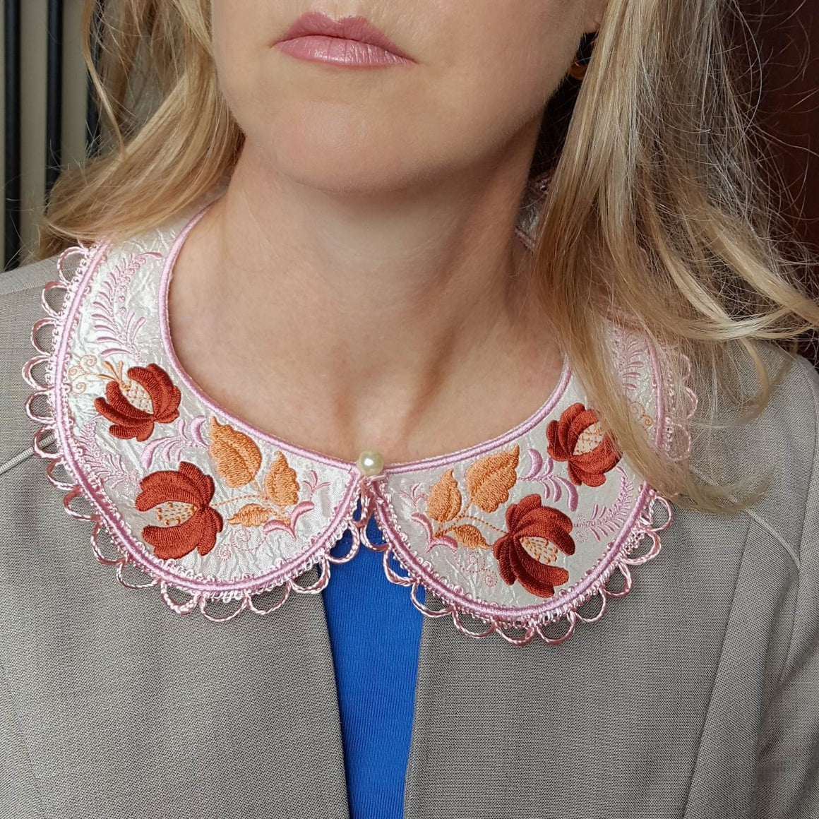 Autumn Song Peter Pan Collar - a-stitch-a-half
