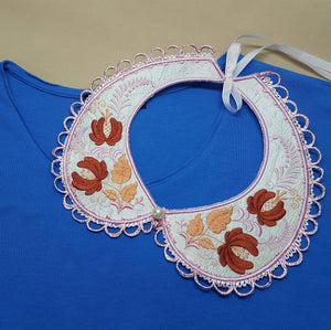 Autumn Song Peter Pan Collar - astitchahalf