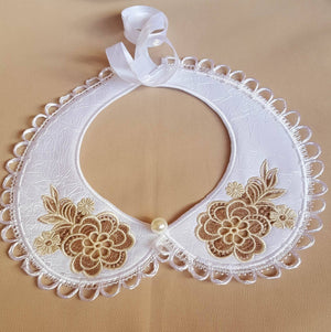 Cutwork Peter Pan Collar - astitchahalf