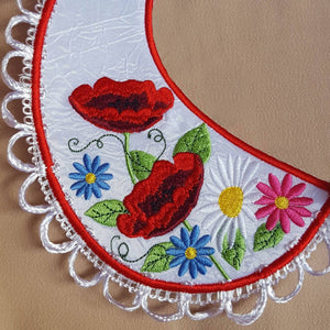 Peter Pan Poppy Collar - a-stitch-a-half