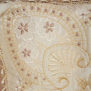 Winter Serenade Pillow Quilt Combo - a-stitch-a-half