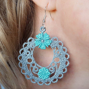 Freestanding Lace Madison Earrings - a-stitch-a-half