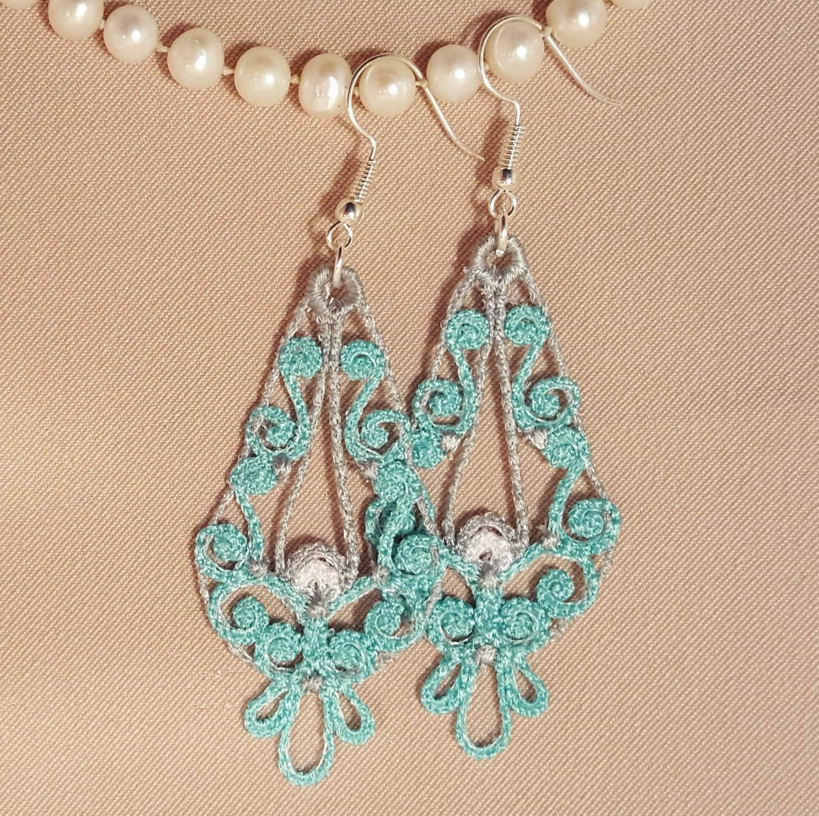 Freestanding Lace Ariana Earrings - astitchahalf