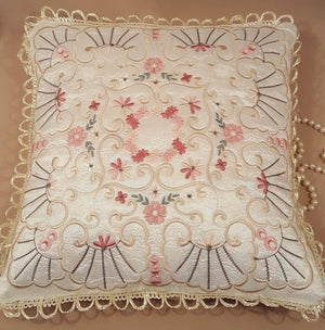 Champagne Joy Pillow Quilt Combo - astitchahalf