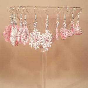 Miniature Freestanding Lace Earrings Combo 1