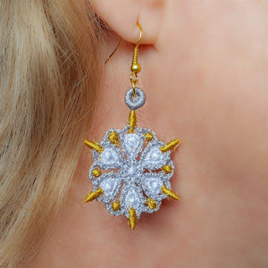 Miniature Freestanding Lace Earrings Combo 2
