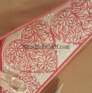 Hearts Scissor Cases with Hearts Fob - a-stitch-a-half