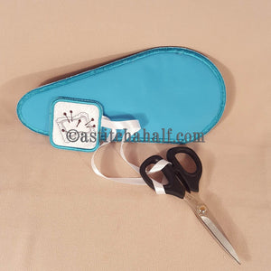Sewing Scissor Cases with Fob - a-stitch-a-half