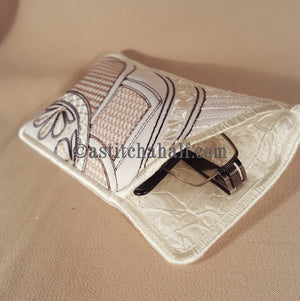 Beautiful Morning Eyeglass Case - a-stitch-a-half