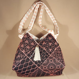 Hana Japanese Quilt Blocks and Tote Bag