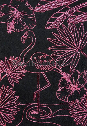 Chalk Board Flamingo Cross Body Bag - a-stitch-a-half