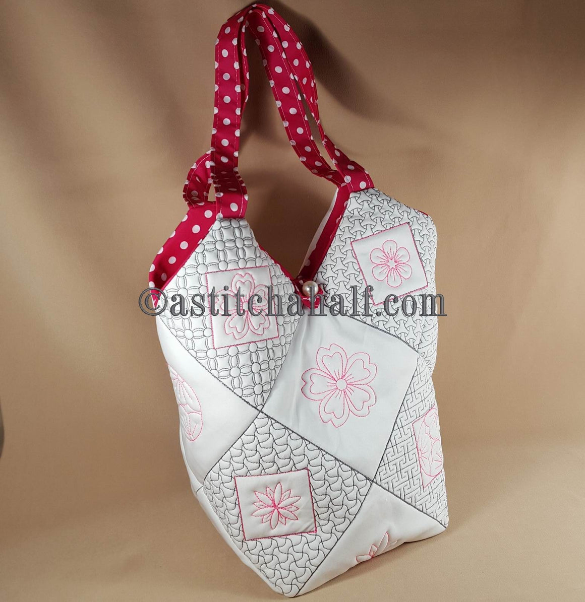 Sakura Smart Tote and Quilt Blocks