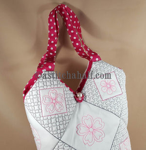 Sakura Smart Tote and Quilt Blocks - a-stitch-a-half