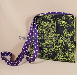 Butterfly Migration  Chalk Board Cross Body Bag - a-stitch-a-half