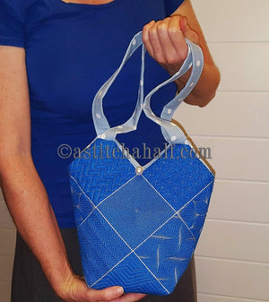Crisscross Smart Tote and Quilt Blocks - a-stitch-a-half