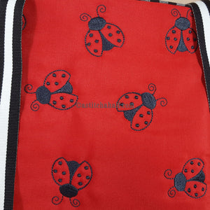 Ladybug Monochrome Cross Body Bag - a-stitch-a-half