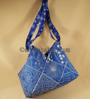 Sumire Japanese Quilt Blocks and Tote Bag