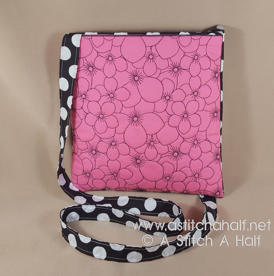 Cherry Blossom Abundance Cross Body Bag - astitchahalf