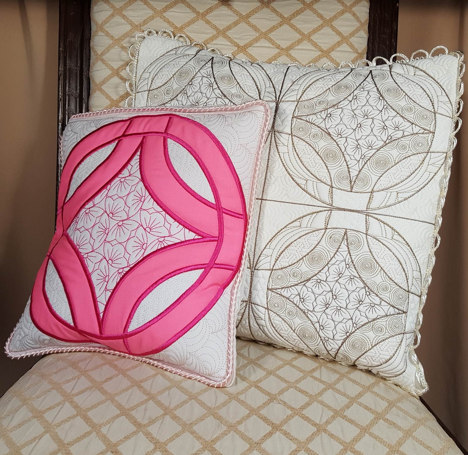 Wedding Ring Quilt Combo Cherry Blossom – aStitch aHalf