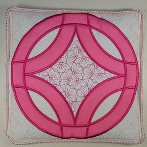 Wedding Ring Quilt Combo Cherry Blossom - a-stitch-a-half