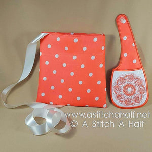Crystal Twin Hands-Free Bags - a-stitch-a-half