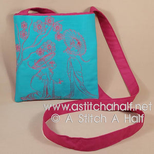 Yuku Haru Cross Body Bag and Belt Pouch