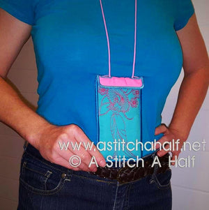 Yuku Haru All In The Hoop Eyeglass and Cellphone Pouches - a-stitch-a-half
