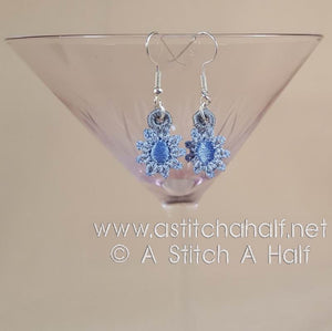Freestanding Lace Ophelia Earrings