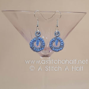 Freestanding Lace Astrid Earrings - a-stitch-a-half