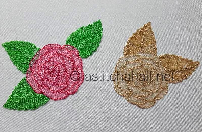 Freestanding Lace Classic Roses - a-stitch-a-half
