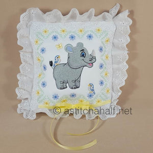 Rodney and Riley Baby Rhino Quilt Combo