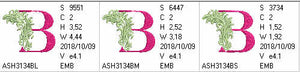Fabulous Foliage Monogram B