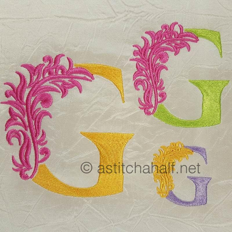 Fabulous Foliage Monogram G
