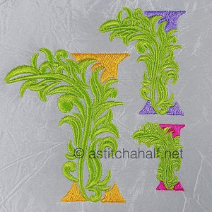Fabulous Foliage Monogram I