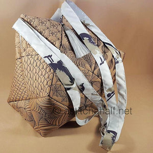 Yuuto Japanese Tote Bag and Quilt Blocks