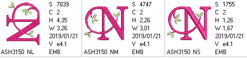 Green Earth Monogram N