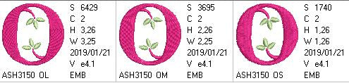 Green Earth Monogram O
