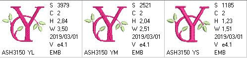Green Earth Monogram Y