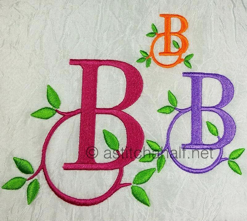 Green Earth Monogram B