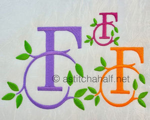 Green Earth Monogram F