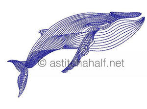 Deep Blue Sea Creatures with Fold and Go Reusable Shopping Bag