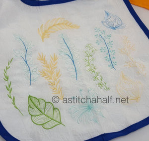 Rustling Leaves Fold and Go Reusable Shopping Bag - a-stitch-a-half